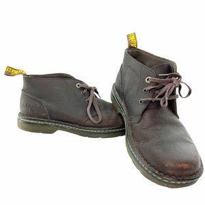 Dr. Marten's Industrial brown leather shoes size 11 men's